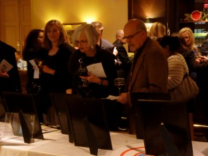 Guests browse over 70 silent auction items at our 23rd Annual Dinner & Auction in April 2014.